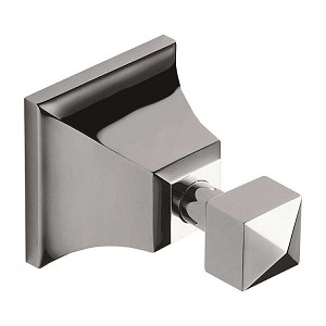Atlas Homewares Gratitude Bath Collection Robe Hook in Polished Chrome