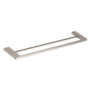 Atlas Homewares Parker Bath 24 inch Collection Double Towel Bar in Brushed Nickel