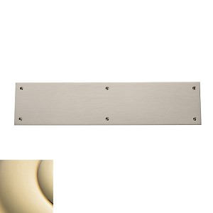 "Baldwin Estate 2123 Square Edge Push Plate - 3.5"" X 15"""
