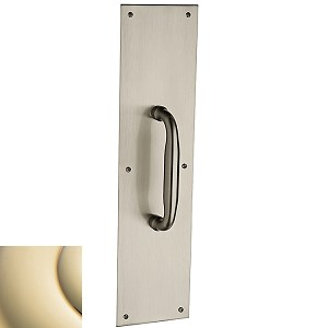 "Baldwin Estate 2560 Pull with 2124 Pull Plate - 4"" X 16"""