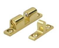 Deltana Solid Brass Ball Tension Catch 1 7/8 x 5/16 Inch