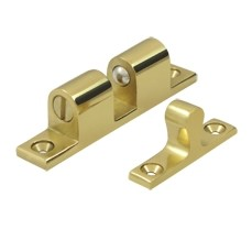 Deltana Solid Brass Ball Tension Catch 2 1/4 x 3/4 Inches