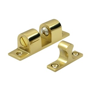 Deltana Solid Brass Ball Tension Catch 3 x 3/4 Inches