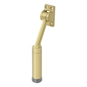 Deltana Solid Brass 7 inch Heavy Duty Kickdown Door Holder