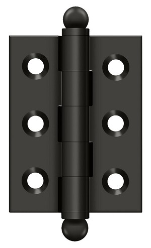 Deltana 2 x 1-1/2 Inch Hinge with Ball Tips
