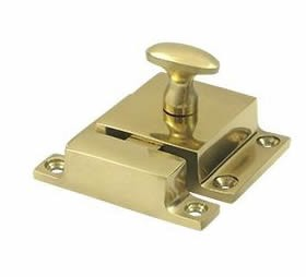 Deltana Solid Brass 1-9/16 x 2-3/8 Inch Cabinet Lock