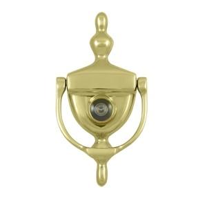 Deltana solid brass door knocker viewer - Door knocker viewer ...
