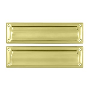 Deltana 13 1/8 Inch Mail Slot with Interior Flap