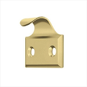 Deltana Solid Brass 1-5/8 x 1-1/2 Inch Window Lift