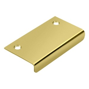 Deltana Solid Brass 3 x 1 1/2 Inch Drawer, Cabinet, Mirror Pull