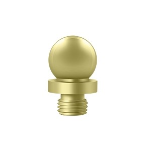 Deltana Ball Solid Brass Hinge Finial