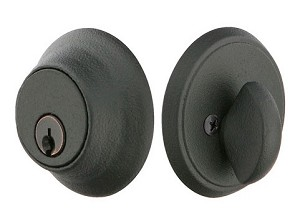 Emtek Wrought Steel Style #2 Single Cylinder Deadbolt