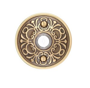 Emtek Brass Lancaster Door Bell Cover