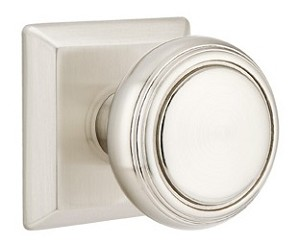 Emtek Norwich Knob With Quincy Rosette