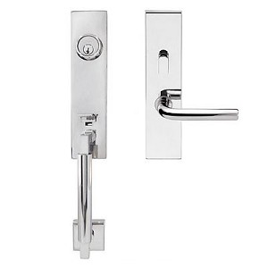 Inox New York Handleset
