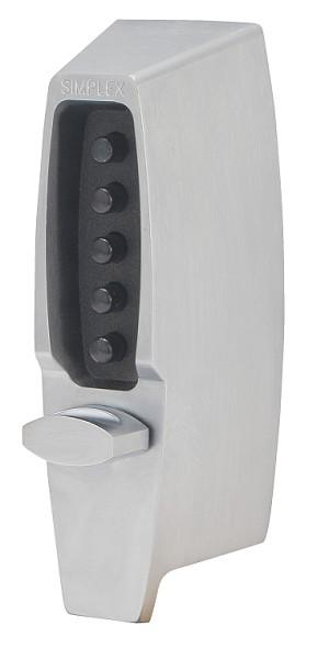 Kaba Simplex 7100 Series Mechanical Push Button Deadbolt Lock