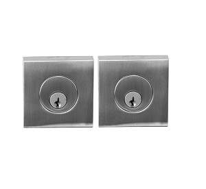 Linnea DB63 Double Cylinder Square Deadbolt