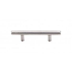 "Top Knobs Stainless Steel Collection Hollow Bar Pull 5 1/16"" (c-c) - Brushed Stainless Steel"