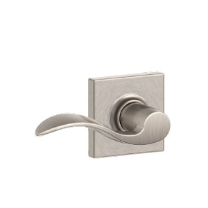 Schlage Accent Lever with Collins Rosette