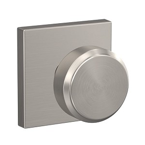 Schlage Bowery Knob with Collins Rosette