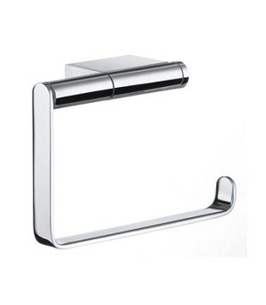 Smedbo AIR Toilet Roll Holder - Polished Chrome