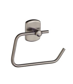 Smedbo Cabin Toilet Roll Holder- Brushed Nickel