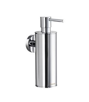 Smedbo Home Collection Solid Brass Soap Dispenser  Wallmount - Polished Chrome