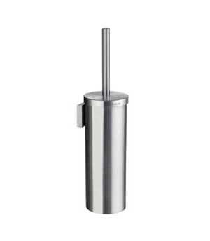 Smedbo House Collection Brass Toilet Brush Wallmount - Brushed Chrome