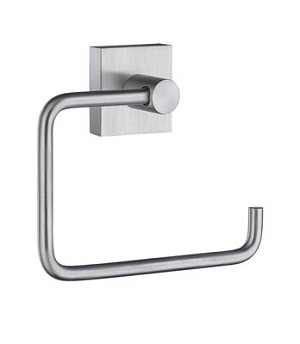 Smedbo House Collection Toilet Roll Holder - Brushed Chrome