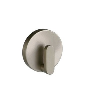 Smedbo Loft Collection Single Towel Hook - Brushed Nickel