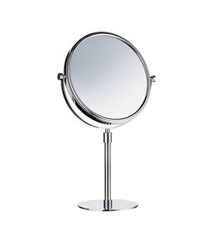 Smedbo Outline Collection Free Standing Mirror - Polished Chrome