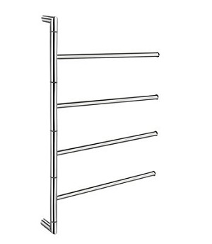 Smedbo Outline Collection Swivel Towel Rail - Polished Stainless Steel