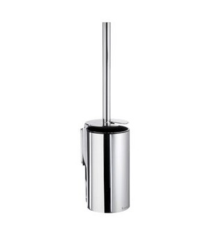 Smedbo Pool Collection Solid Brass Toilet Brush Holder - Polished Chrome
