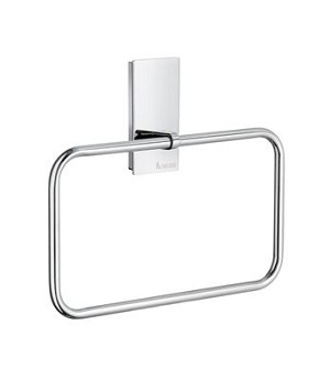 Smedbo Pool Collection Towel Ring - Polished Chrome