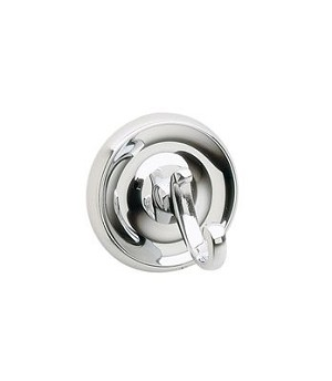 Smedbo Villa Collection Bath Towel Hook - Polished Chrome