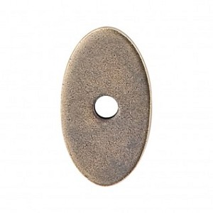 Top Knobs Sanctuary I Oval Backplate Small 1 1/4 Inch - German Bronze