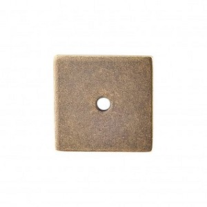 Top Knobs Sanctuary I Square Backplate 1 1/4 Inch - German Bronze