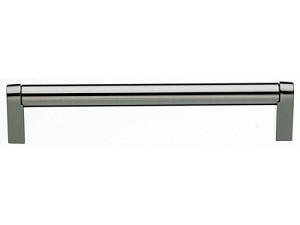 Top Knobs Pennington 6 5/16 Inch CC Cabinet Bar Pull - Brushed Satin Nickel