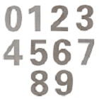 AHI Modern Stainless Steel House Numbers