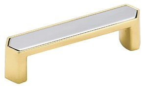 Inch Cc Polished Solid Brass Chrome Cabinet Pull