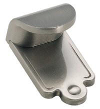 Amerock 1 7/8 Inch Satin Nickel Inspirations Finger Pull