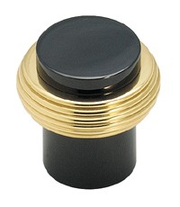 Amerock 3/4 Inch Solid Brass Black Nickel Cabinet Knob