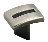 Amerock Pewter Evolutions Infinity Cabinet Knob