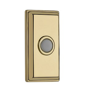 Baldwin Rectangular Doorbell Cover - BR7015