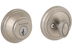 Baldwin Prestige Series Deadbolt Satin Nickel