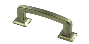 "Berenson Hearthstone Series 3"" mm CC  Pull in Brushed Nickel"