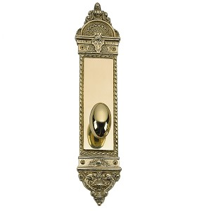 "Brass Accents L'Enfant Collection - 3"" x 14"" Lockset"