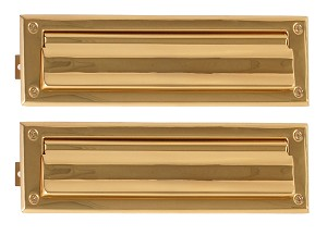 Brass Accents 3 5/8 Inch x 13 Inch Mail Slot