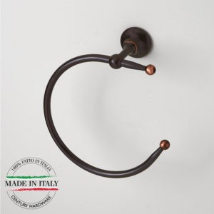 Century Ravello Towel Ring - Oil-Rubbed Bronze