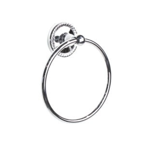 Century Aria 6-3/8 Inch Towel Ring- Polished Chrome